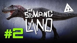 The Stomping Land Gameplay Part 2 - Taming a Dinosaur  (Dayz Dino Game)
