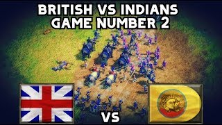 Age Of Empires 3 British Vs Indians Game Number 2
