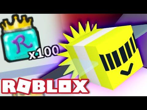 100 ROYAL JELLIES & PHOTON BEE!  Roblox Bee Swarm Simulator