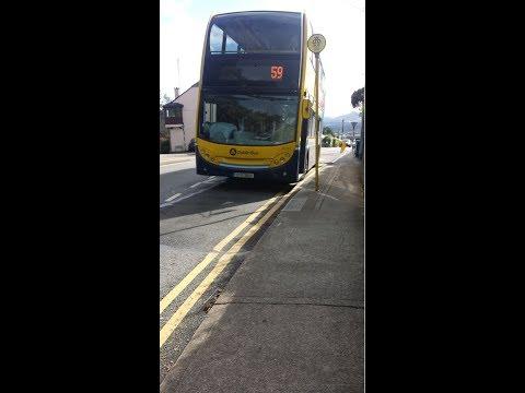 EV93 - 59 Dublin Bus - Killiney to Dún Laoghaire - Mon-Sat 14:50 Departure