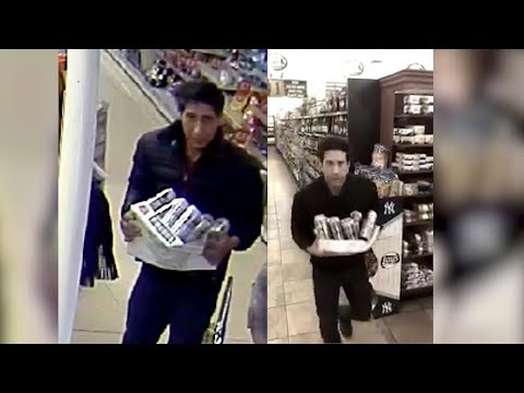David Schwimmer Responds To Search For Lookalike Thief By Making Spoof Video