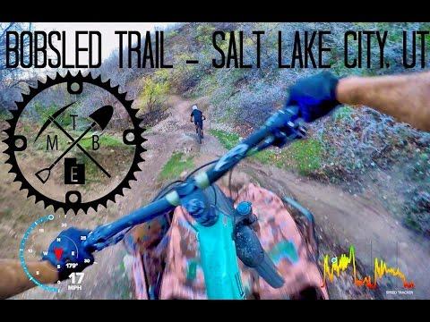 Bobsled Trail, Salt Lake City, UT with GoPro Telem by MTB Enthusiasts of Utah
