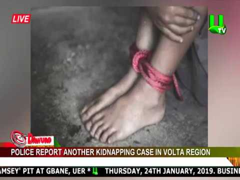 Police report another kidnapping case in Volta region
