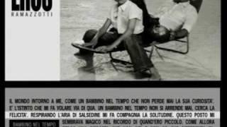 Eros Ramazzotti - Bambino Nel Tempo.mpg