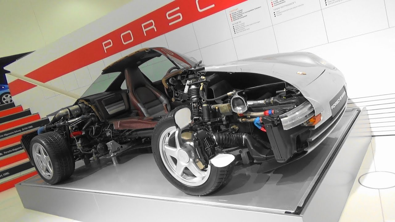 porsche 959 cutaway model the super porsche porsche. Black Bedroom Furniture Sets. Home Design Ideas