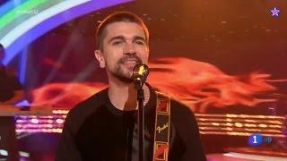 Juanes - Fuego -  Feliz 2017 TVE (La1 HD)