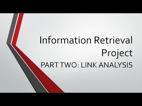Information Retrieval Project Part 2 Instructions