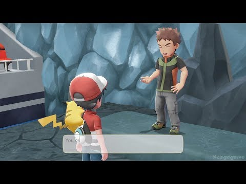 Pokemon Lets Go Pikachu , Eevee Gameplay - Nintendo Treehouse E3 2018