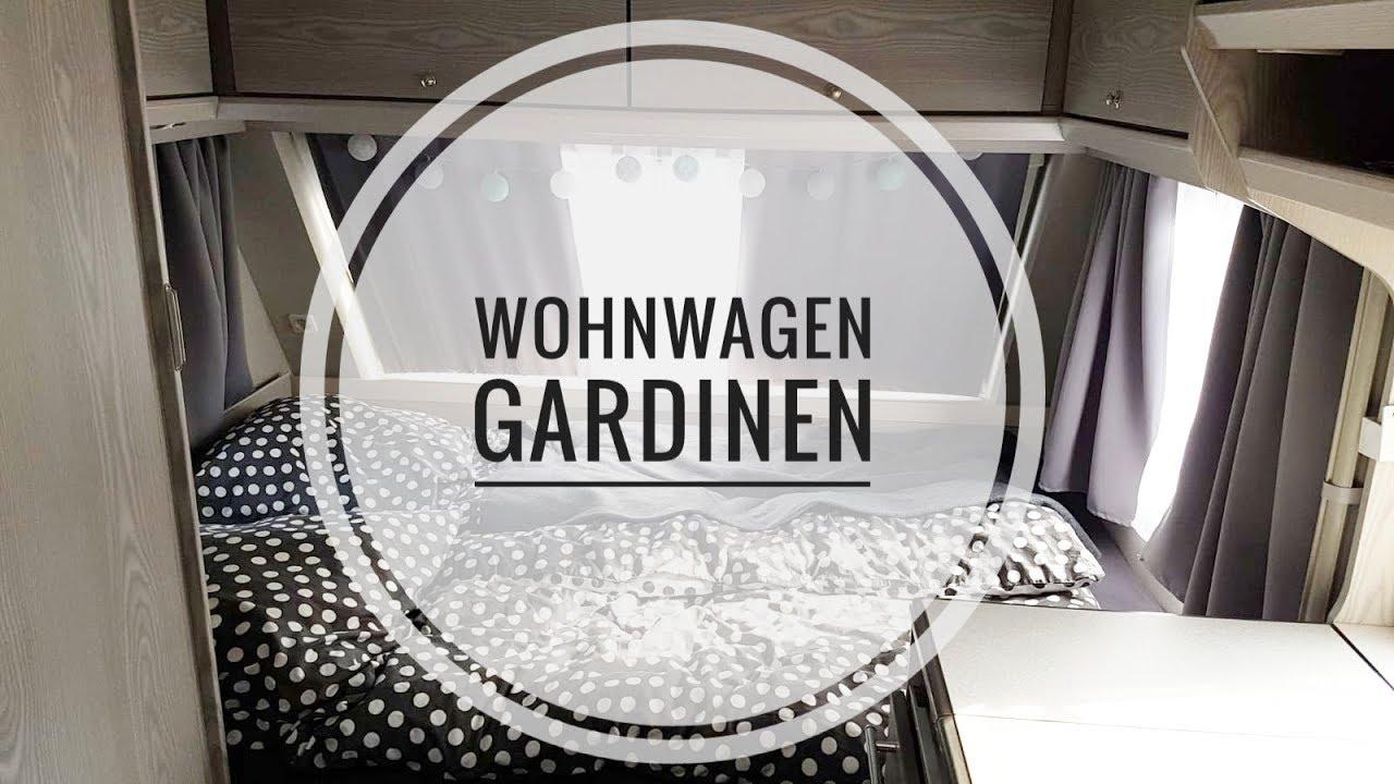 GARDINEN FÜR DEN WOHNWAGEN / DIY / selber genäht / wohnwagenliebe