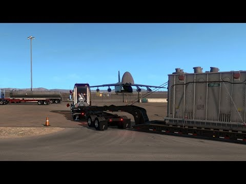 ATS (New Mexico DLC!) Volvo VNL670 - Hollbrook (AZ) - Albuquerque (NM) Sky Delivery