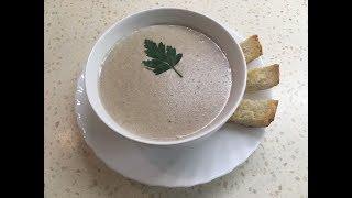 Ароматный и вкусный крем - суп из шампиньонов - для настоящих гурманов!
