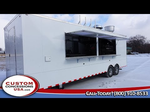 Saudi Arabia Food Trailer Built By Custom Concessions