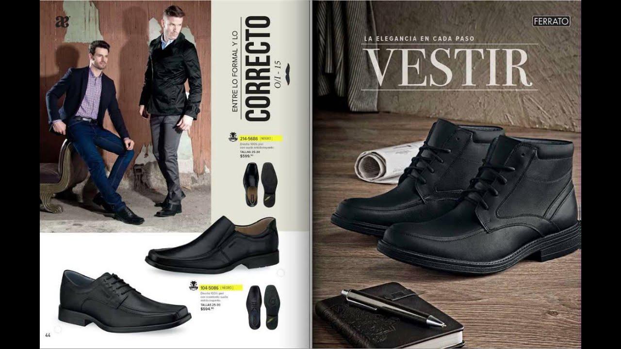 c1a827d6 Catálogo Andrea Zapatos para Caballero Ferrato 2015 - YouTube