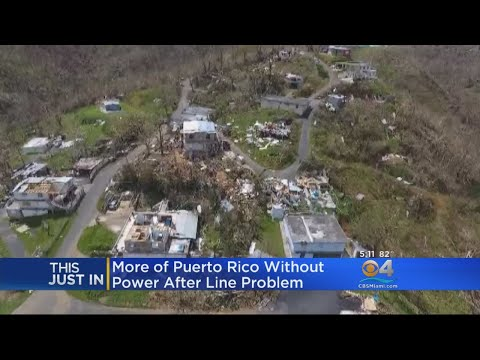 Puerto Rico Hit By Massive Power Outage