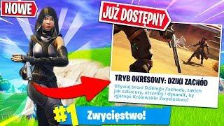 *LOSOWY* DZIKI ZACHÓD! WIELKI TEST! | Fortnite - Battle Royale