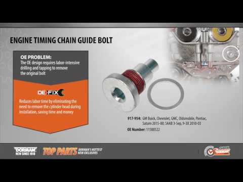 Engine Timing Chain Guide Bolt
