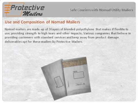 Safe Couriers with Nomad Utility Mailers