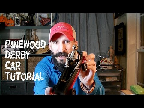 How to make a Pinewood Derby Car for Cub Scouts - Monster Tutorials Style!