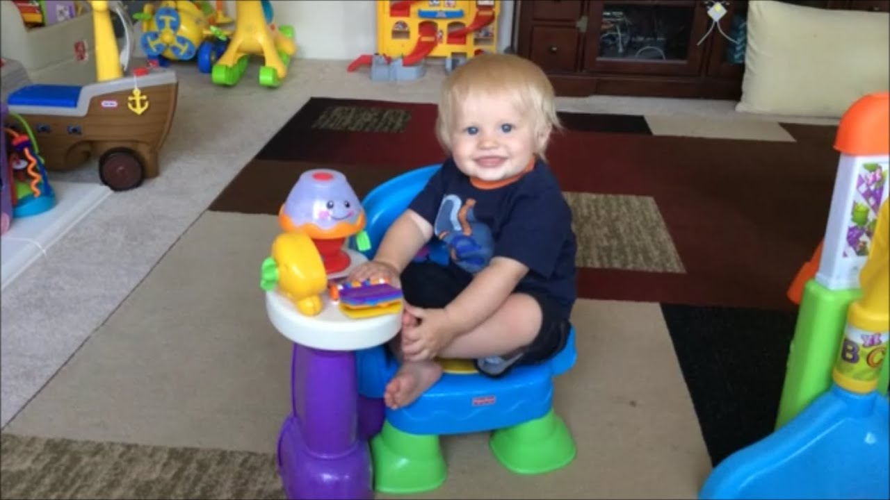 Fisher Price Song Story Learning Chair Has Baby Michael Dancing Playtime Review