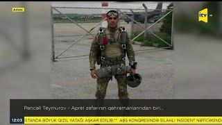Pəncəli Teymurov - Aprel Zəfərinin Qəhrəmanlarından Biri...