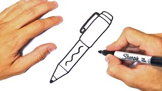 pen draw easy tutorial