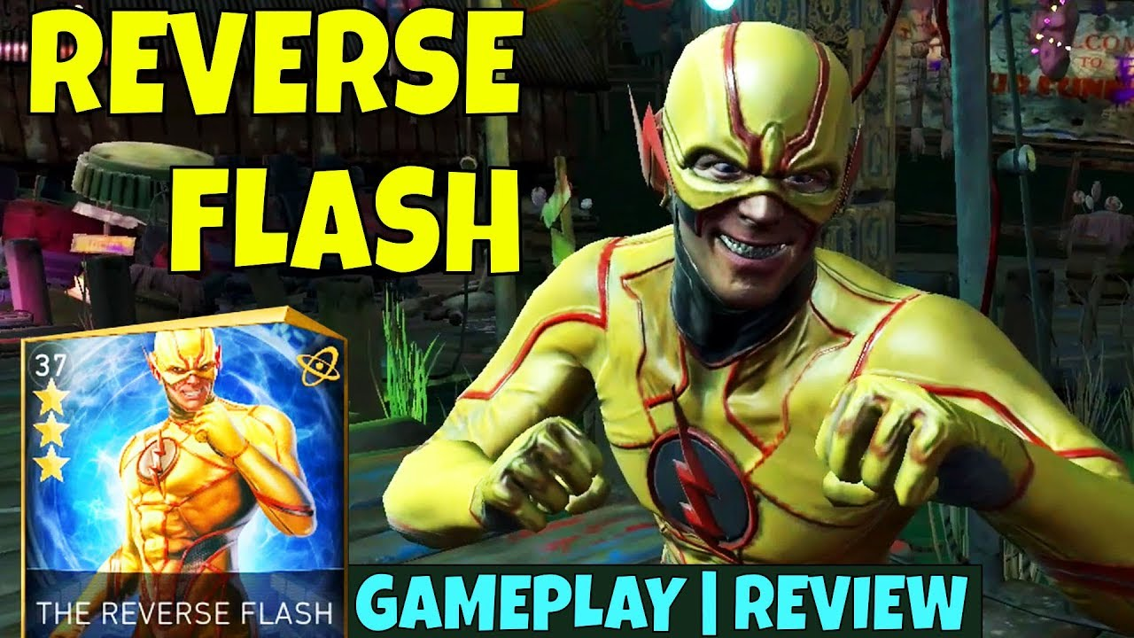 how to get reverse flash in injustice