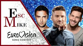 Eurovision Most HANDSOME Men - My Top 30 [2000 - 2017]
