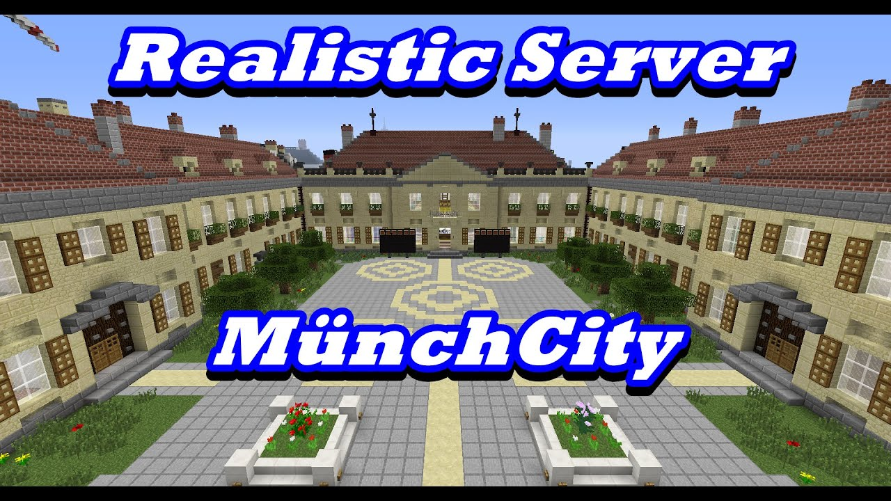 Minecraft Server Vorstellung YouTube - Minecraft olympische spiele server