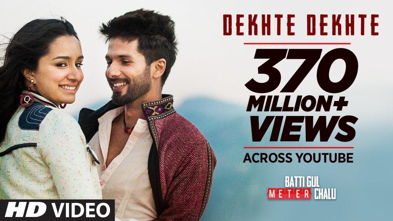 Atif A: Dekhte Dekhte Song | Batti Gul Meter Chalu | Shahid K Shraddha K | Nusrat Saab Rochak Manoj