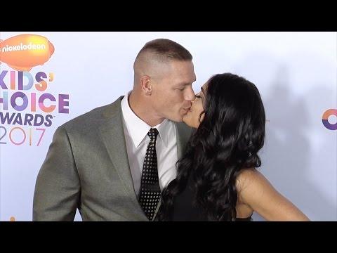 John Cena and Nikki Bella 2017 Kids