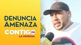 Vocero de No+Tag denunció amenazas de carabinero - Contigo En La Mañana