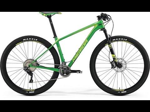 Обзор велосипеда Merida BIG NINE XT EDITION 2017 - YouTube