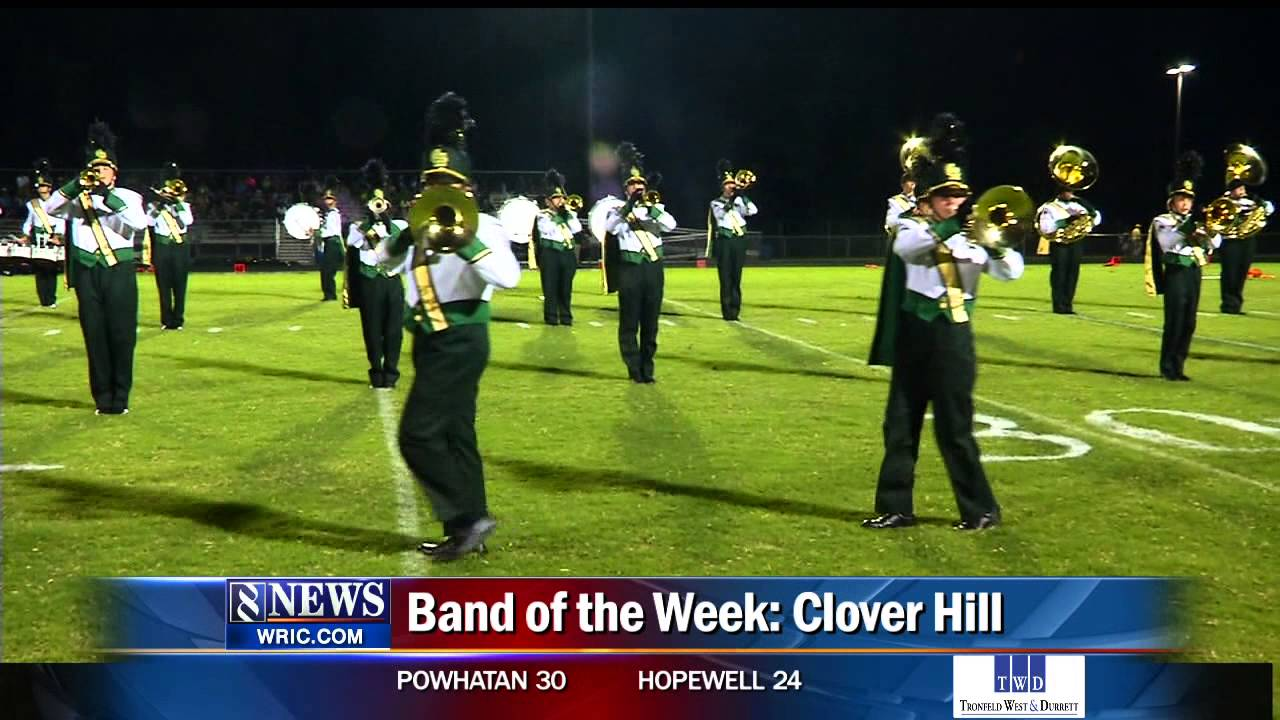 BAND OF THE WEEK CLOVER HILL