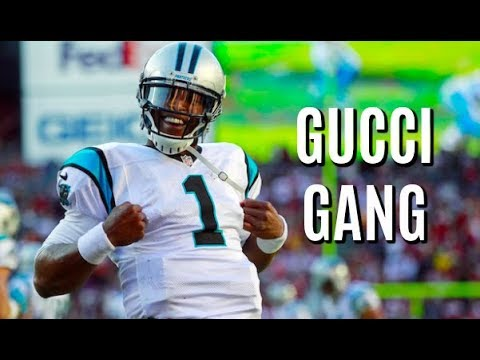 "Cam Newton Highlights 2017-18 || ""Gucci Gang"" 
