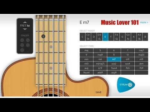 Em7 Chord Guitar Youtube