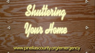 Shuttering your home