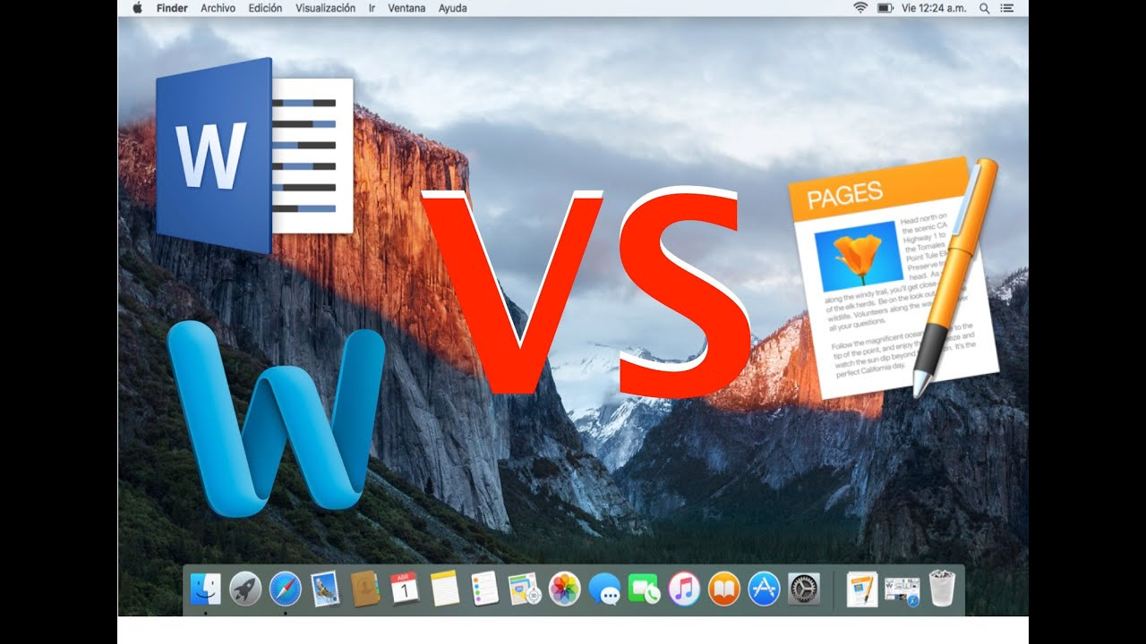 Microsoft Office Word 2017 VS Apple Page 5.6.1 Review ...