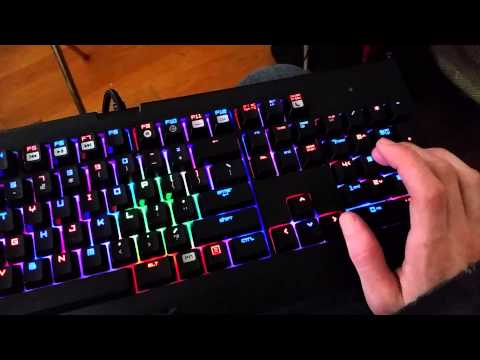 razer blackwidow ultimate chroma keyboard custom lighting