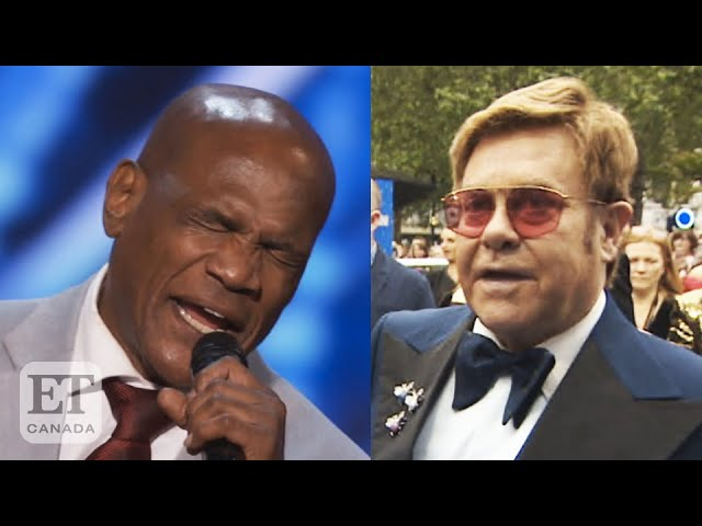 Elton John Reacts To 'AGT' Singer Who Was Wrongly Imprisoned For 37 Years