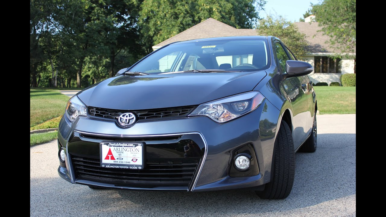 2014 Toyota Corolla Sport Edition Test Drive Chicago