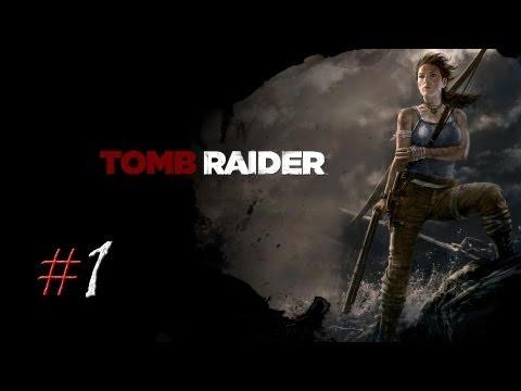 Смотреть прохождение игры Tomb Raider. Серия 1 - Кораблекрушение.