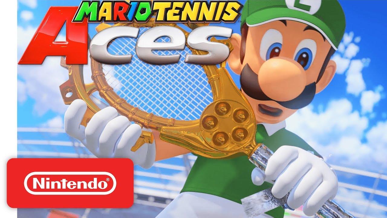 2d0b0e1b53cc0 Mario Tennis Aces - Adventure Mode Trailer - Nintendo Switch - YouTube