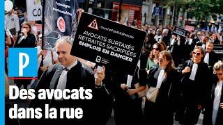 Les avocats manifestent à Paris : « Ce n'est que le premier round »