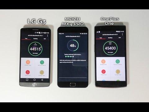Meizu MX4 Pro vs LG G3 vs OnePlus One