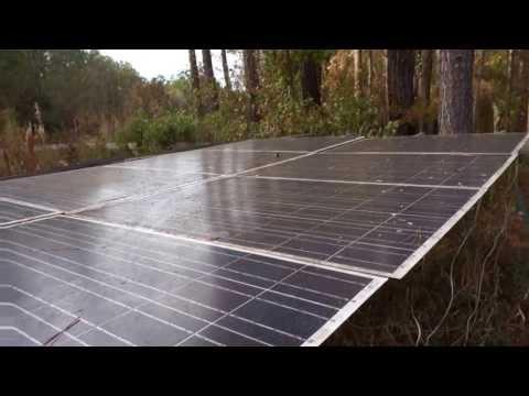 "8 solar panels - ""in the woods"" MAH00143"