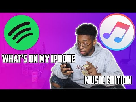 What's On My iPhone Music Edition