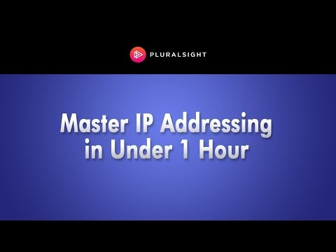 Pluralsight Webinar: Networking Fundamentals: Mastering IP Addressing in Under 1 Hour