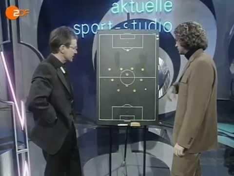 Ralf Rangnick Sportstudio 1998 Viererkette