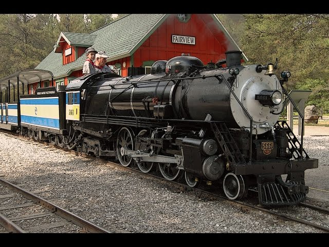 Once Around - The Michigan AuSable Valley Railroad