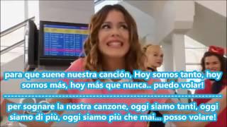 """Testo e Traduzione """"HOY SOMOS MAS"""" Martina Stoessel"""